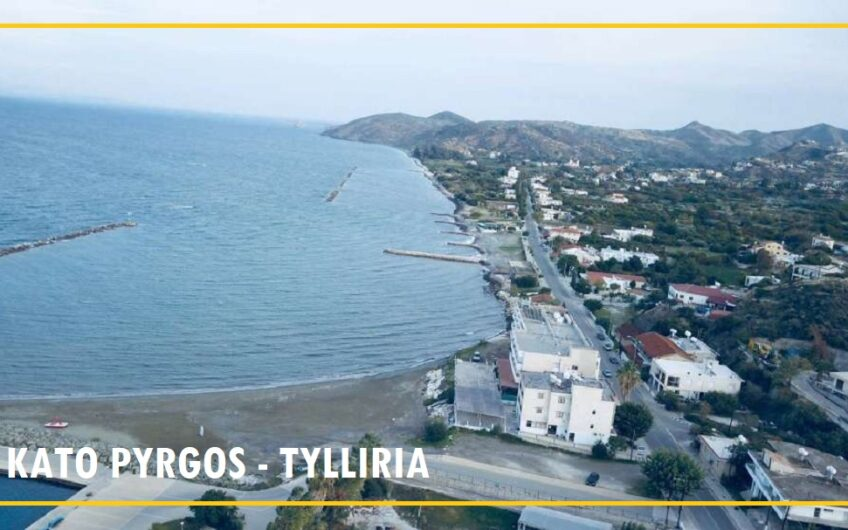 Building Plots and Land For sale in Kato Pyrgos, Tyllirias from €85.000,-